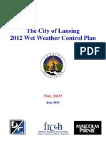 Lansing Wet Weather Control Plan