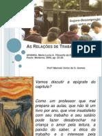 As relações de trabalho - Prof Marcelo Victor de Souza Gomes
