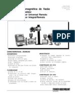 Catálogo 570TM -Tubo Eletromagnético de Vazão