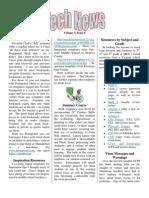 Newsletter 3, 8