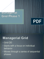 Managerial Grid Phase 1