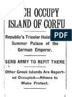 French Occupy Island of Corfu