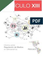 ARTICULO 13. Regulación de Medios en Latinoamerica