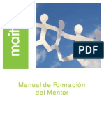 MANUAL DE FORMACIÓN DEL MENTOR