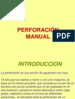 Perforacion Manual Jack Leg