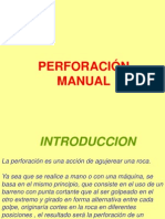 Perforacion Manual Jack Leg