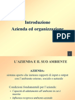 Azienda E Processi Aziendali Funzioni Organi Organizzazione Aziendale