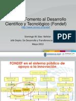 PPT Fodef, Fondecyt e Innova