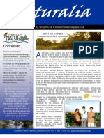 Boletín NATURALIA Verano 2009