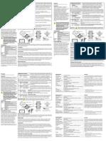 Senzor PIR PMD1P Manual PMD1P-TI08 Versiunea 2.0