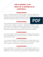 Ley Del Iusi DECRETO 15-98