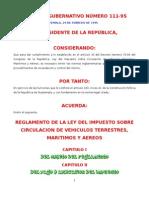 to de La Ley Del Impuesto Sobre Circulacion de Vehiculos AG 111-95