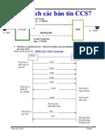 Phân tích các bản tin CCS7-Tram Duc Huy
