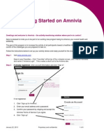 Getting Started on Amnivia