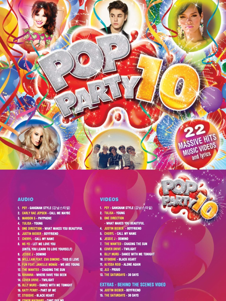 23 - Digital Booklet_ Pop Party 10 | Universal Music Group