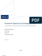 Economic Exposure to EM 24 May 2012