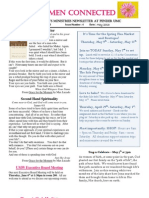 Women Connected Newsletter - May 2013