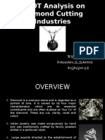 a0bac2af1a41 Swot Analysis on Diamond Cutting Industries