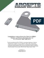 KRB01 Installation Instructions