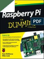 Raspberry Pi For Dummies PDF Sampler