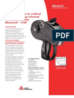 The Monarch 1158 Pricing gun [PricingGunsWorld.com]