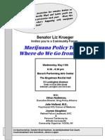 Marijuana Forum Flyer