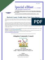 Special eBlast 5 1 2013 Traffic Survey