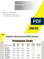 3 Year Financial Plan - Hertz
