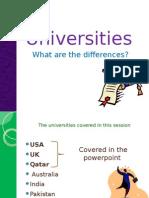 Universities Ppt Edited