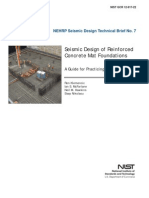 Seismic Design of Reinforced Concrete Mat Foundations - A Guide for Practicing Engineers