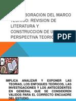 2. La Elaboracion Del Marco Teorico