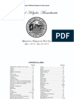 Mayors FY2014 Budget Proposal to City Council