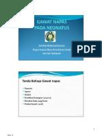 Gds 138 Slide Gawat Napas Pada Neonatus