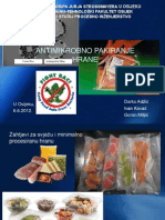 Antimikrobno pakiranje hrane