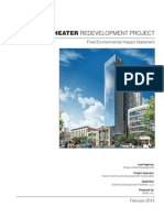 VICTORIA THEATER REDEVELOPMENT PROJECT FINAL ENVIRONMENTAL IMPACT STATEMENT (FEIS)