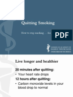 Appendix E - AAFP Quit Smoking - Patient Education