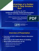 Appendix C – Smoking Cessation Resident Education Module