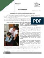 10/02/11 Germán Tenorio Vasconcelos incrementan en 5% Infecciones Respiratorias, Gtv