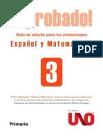 APROBADO ESPAÑOL Y MATEMATICAS