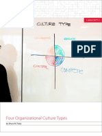 Four Organizational Culture Types 6