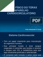 TÓRAX - APARELHO CARDIOLÓGICO