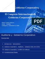 Auditoria y Gobierno Corporativo