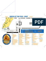 Brew at the Zoo 2013 Map