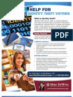 Identity Theft Unit Flier
