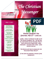 May 5 Newsletter