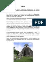 10 Lugare Turisticos de Guatemala