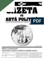 Gazeta de Arta Politică #2