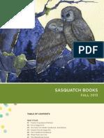 Sasquatch Books Fall 2013 Catalog