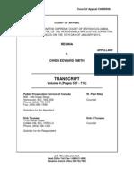 R. v. Smith Transcripts Volume 4