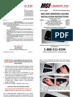 Mach-Speed Inc. P# 42014 Installation Instructions
